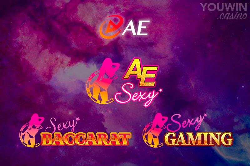 วิวัฒนาการของแบรนด์ Sexy เริ่มจาก Sexy Baccarat ต่อมาเป็น Sexy Gaming และปัจจุบันคือ เออี เซ็กซี่