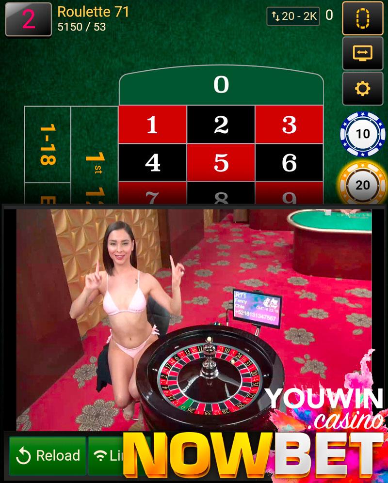 รูเล็ต ของ Sexy Gaming Casino มาพร้อมกับสาวอเมริกาใต้ในชุดบิกินี่