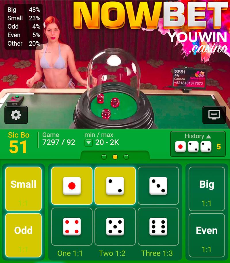 ซิคโบ ของ Sexy Gaming Casino มาพร้อมกับสาวอเมริกาใต้ในชุดบิกินี่