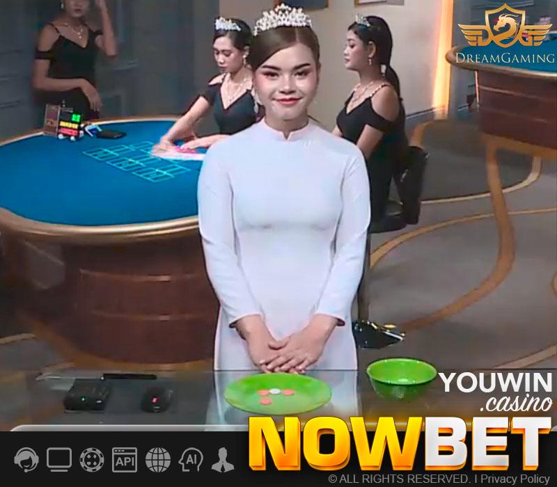 Dealer สาว กำถั่ว (sedie) ยิ้มหวานจาก Dream Gaming
