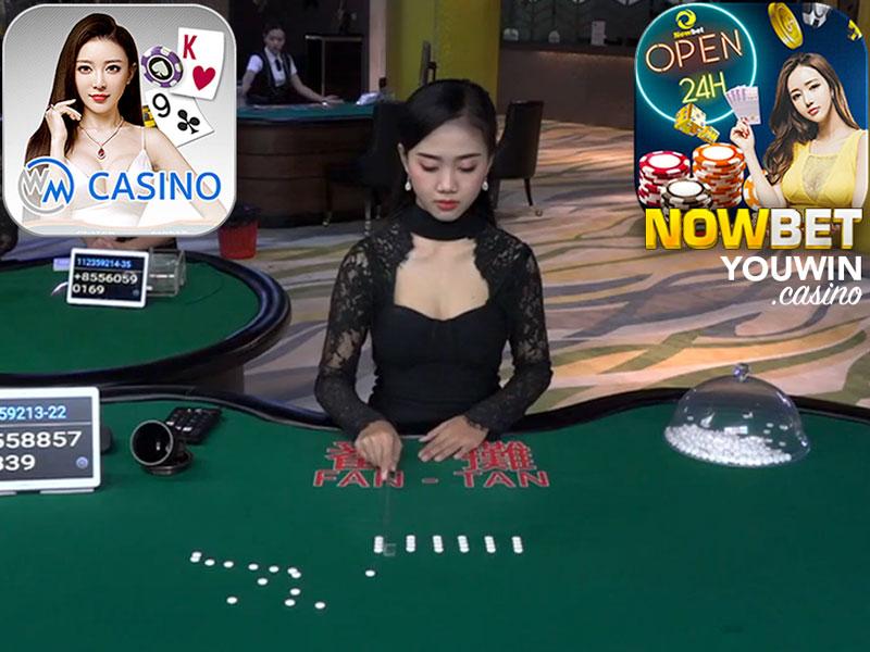 NOWBET มี กำถั่ว ของ WM Casino พร้อมให้บริการ