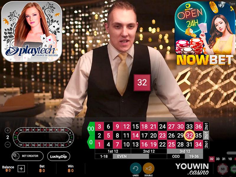 NOWBET มี American Roulette เกม รูเล็ต จาก Playtech พร้อมให้บริการ