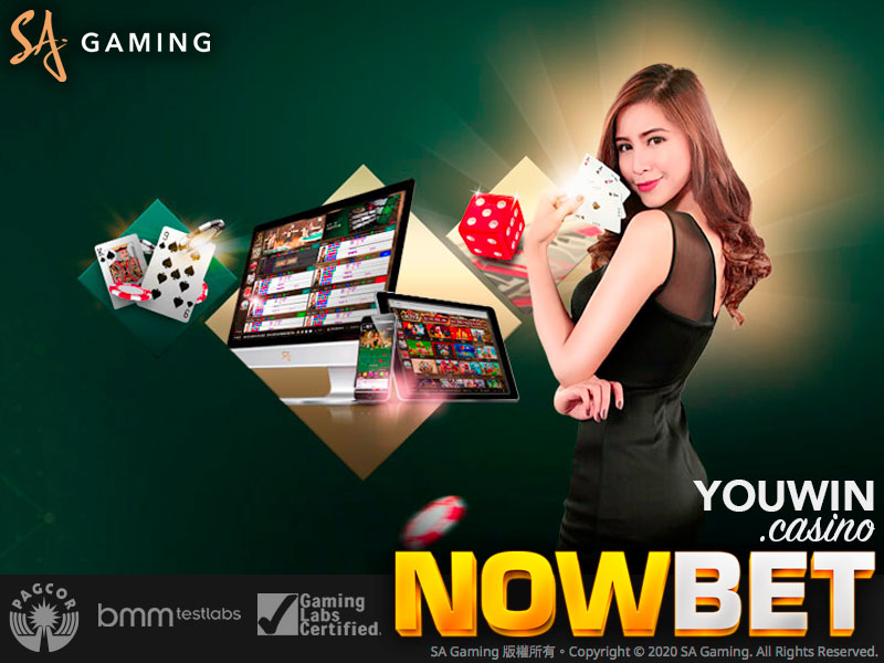 NOWBET มี SA Gaming พร้อมให้บริการอย่างเต็มรูปแบบ