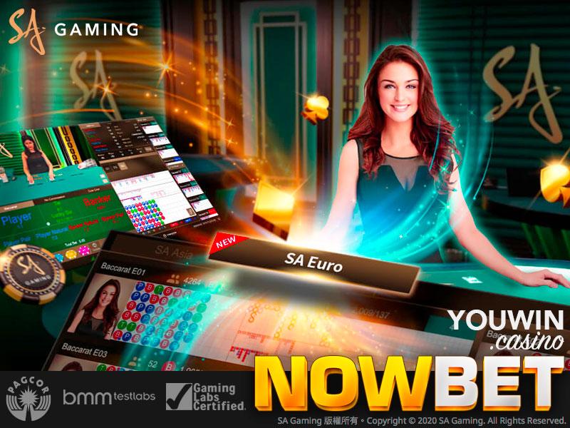SA Euro สายบริการใหม่ล่าสุดจาก SA Gaming