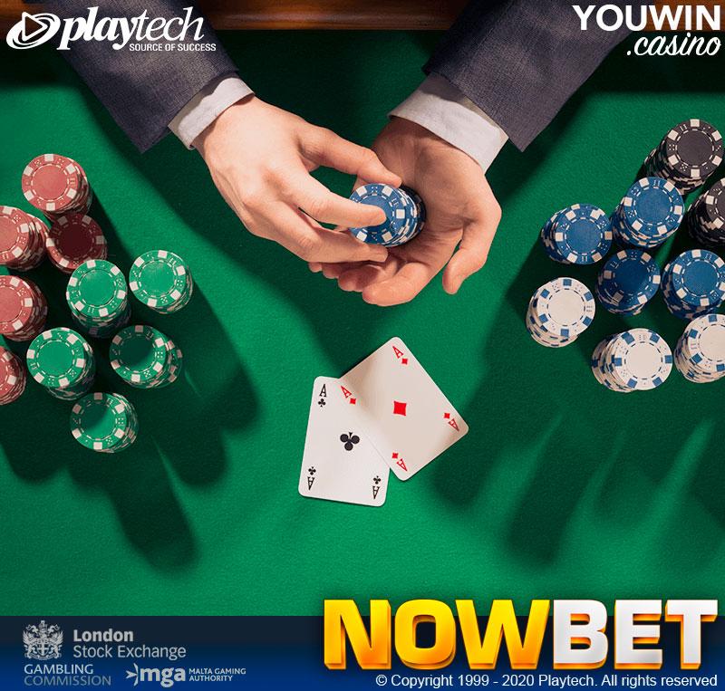 ในเกม Blackjack (แบล็คแจ็ค) ถ้าเราได้คู่ A,A เราควรทำ แยก (Split)