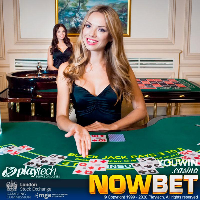 เล่นแบล็คแจ็คออนไลน์ (Play Online Blackjack) ได้อย่างสะดวกสบาย ทุกที่ทุกเวลา ตามมาตรฐานสากล กับ Playtech