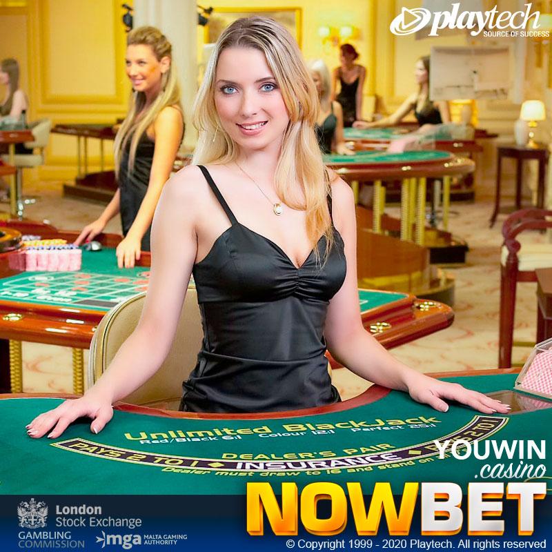 NOWBET เลือกใช้ Blackjack Platform ของ Playtech ที่ถือเป็นค่ายผู้ผลิต Casino Game ขนาดใหญ่ที่สุดของโลก