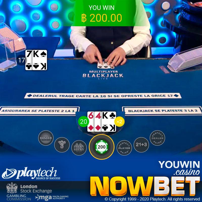 Double Down ชนะเจ้ามือใน Live Blackjack บนมือถือ