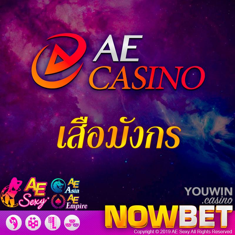 AE Casino เสือมังกร หรือ มังกรพยัคฆ์ (Dragon Tiger)