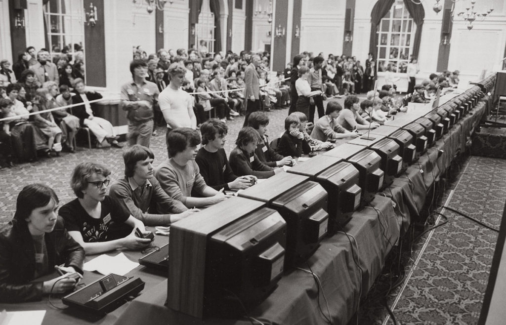 Atari's National Space Invaders Championship 1980